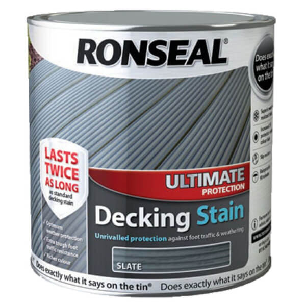 RONSEAL ULT PROTECTION DECK STAIN SLATE