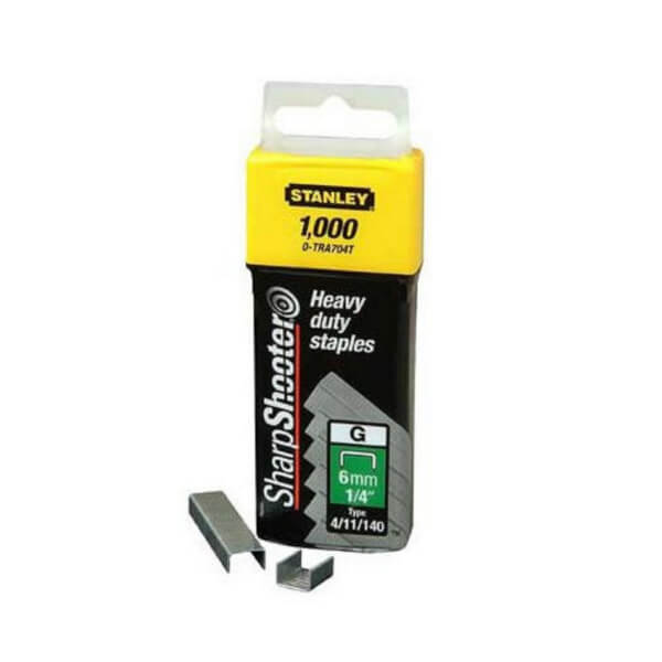 STANLEY HD 6MM STAPLES