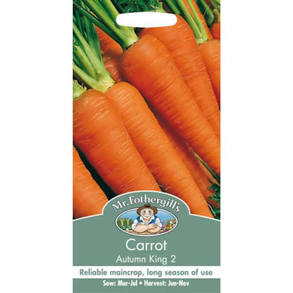 Carrot Autumn King 2 (Daucus Carota) Seeds