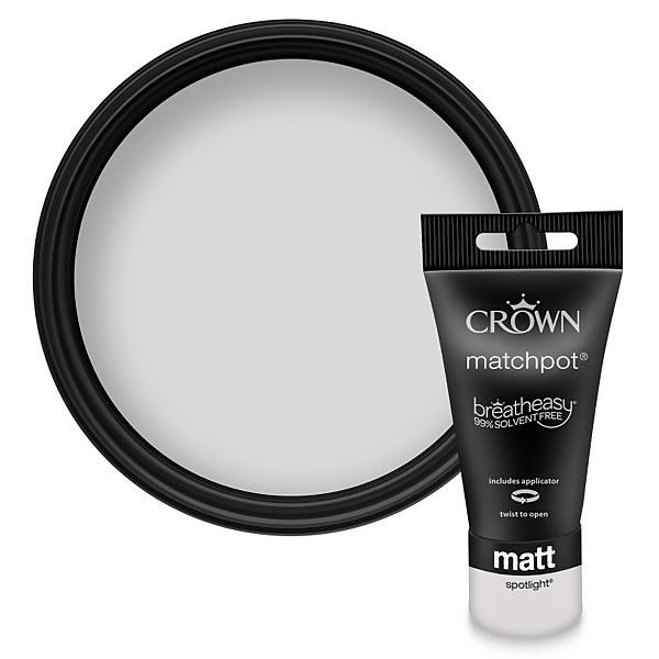 Crown Breatheasy Spotlight - Standard Emulsion Matt Paint - 40ml Tester
