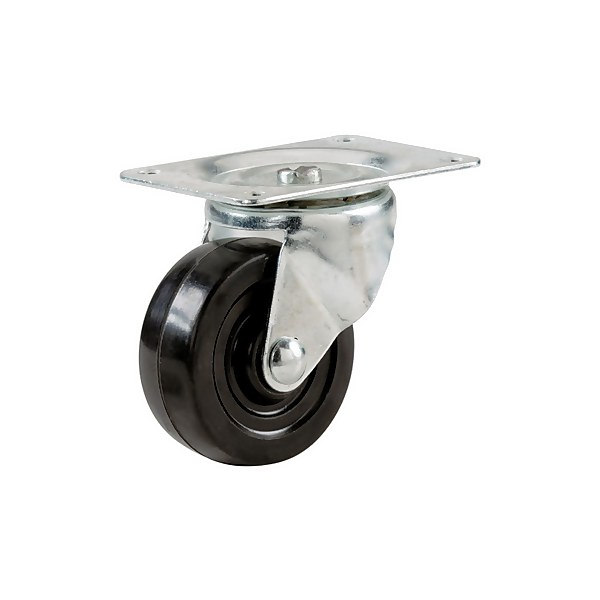 Single Wheel Castors - 4 Pack