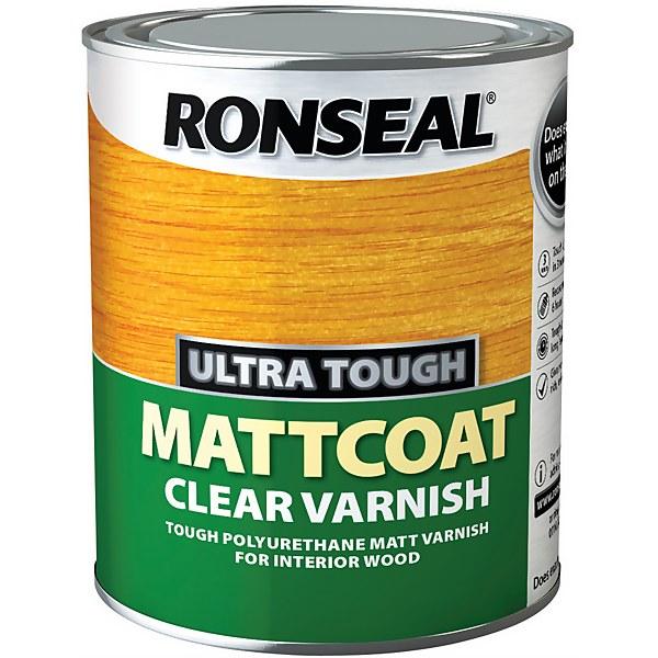 Ronseal Ultratough Matt coat - 750ml