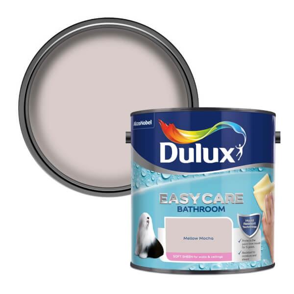 Dulux Easycare Bathroom Mellow Mocha - Soft Sheen Paint - 2.5L