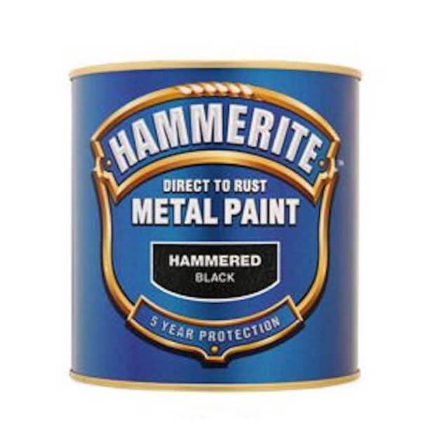 Hammerite Red - Hammered Exterior Metal Paint - 250ml