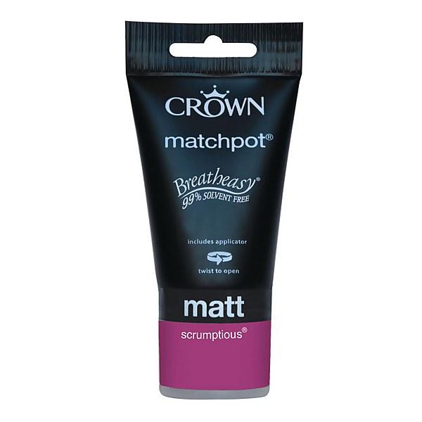 Crown Feature Wall Breatheasy Scrumptious - Matt Paint - 40ml Tester