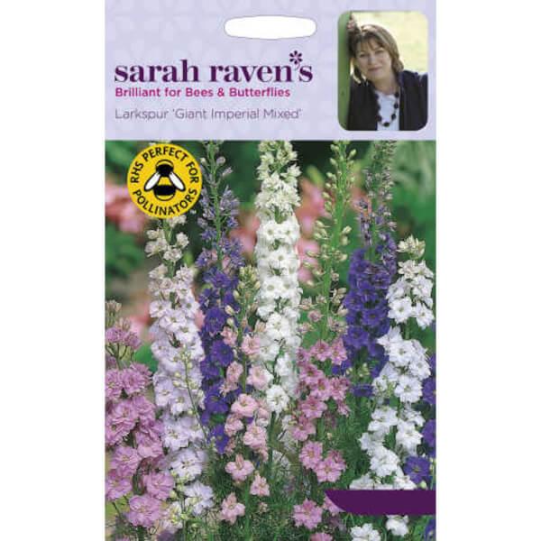Sarah Ravens Larkspur Giant Imperial Mixed Seeds