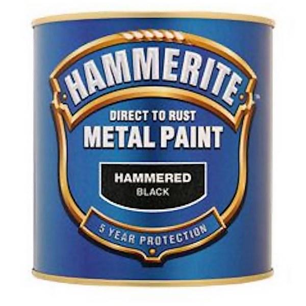 Hammerite Dark Green - Hammered Exterior Metal Paint - 250ml