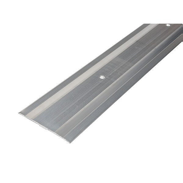 Extra Wide Cover Strip Carpet Edge - Silver 900mm