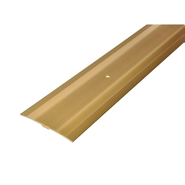 Extra Wide Cover Strip Carpet Edge - Gold 900mm