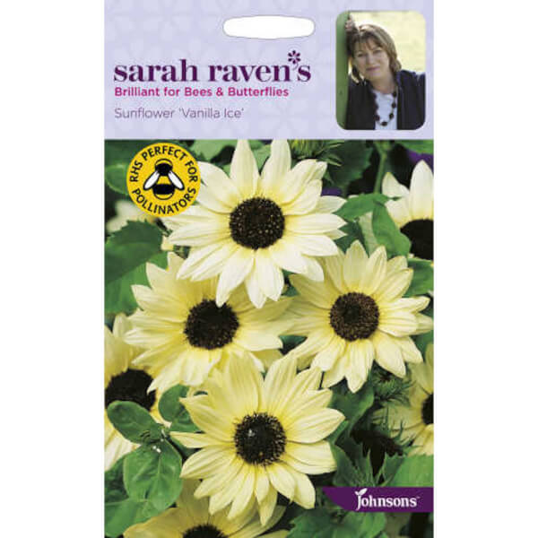 Sarah Ravens Sunflower Vanilla Ice Seeds