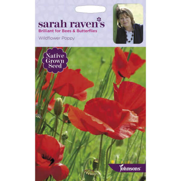 Sarah Ravens Wildflower Poppy Seeds