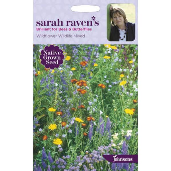 Sarah Ravens Wildflower Wildlife Mixed Seeds