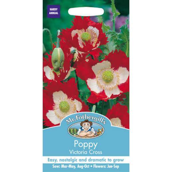 Mr. Fothergill's Poppy Victoria Cross Seeds