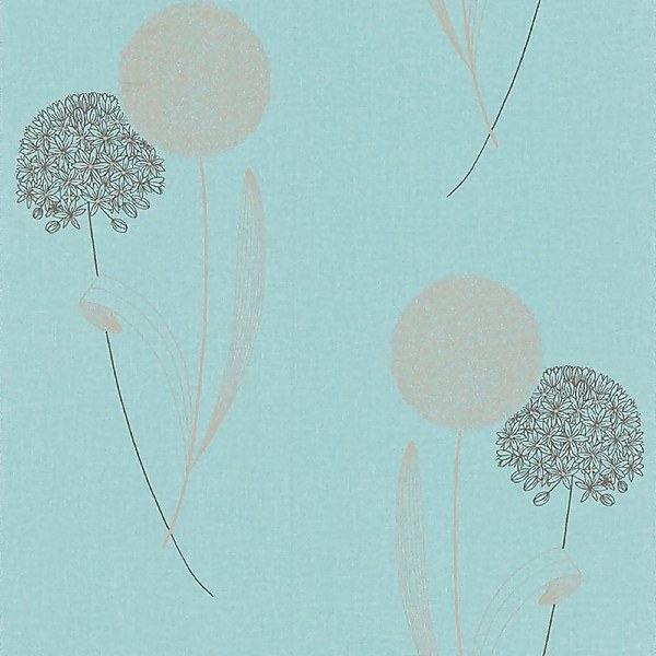 Sublime Essence Alium Wallpaper - Duck Egg