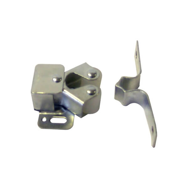 Double Roller Catch - BZP - 46 x 31 x 13mm