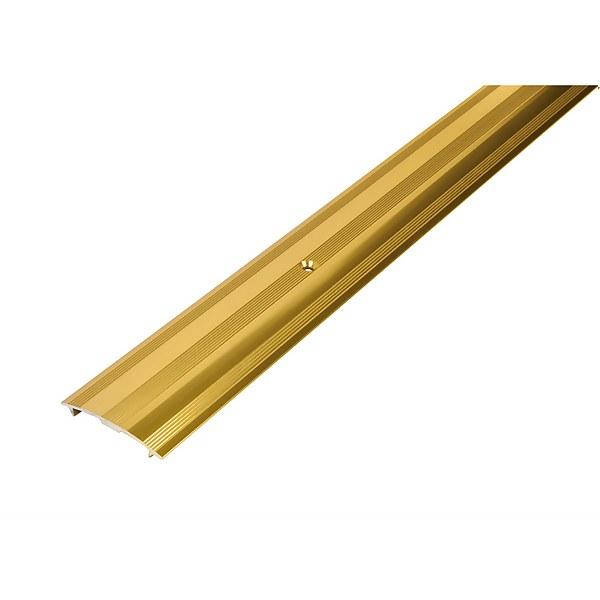 Cover Strip Carpet Edge - Gold 1800mm