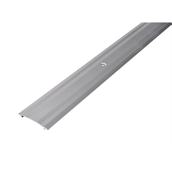Cover Strip Carpet Edge - Silver 1800mm