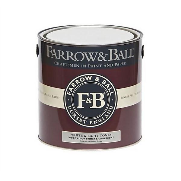 Farrow and Ball Wood Floor Primer Undercoat - Light & White Tones - 2.5L