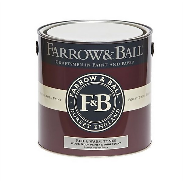 Farrow and Ball Wood Floor Primer Undercoat - Red & Warm Tones - 2.5L