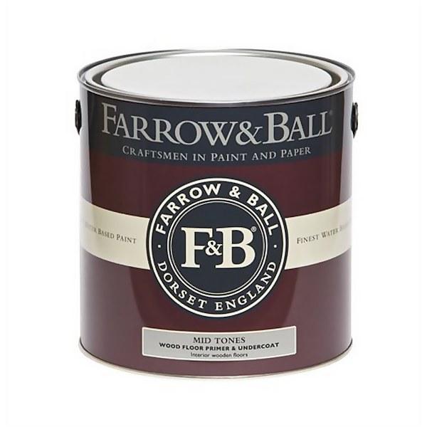 Farrow and Ball Wood Floor Primer Undercoat - Mid Tones - 2.5L
