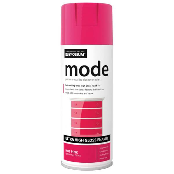 Rust-Oleum Hot Pink - Mode Spray Paint - 400ml