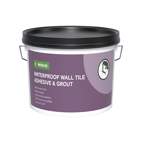 Homebase Adhesive & Grout - 4.0kg