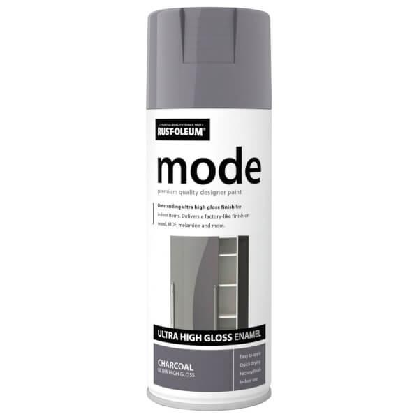 Rust-Oleum Charcoal - Mode Spray Paint - 400ml