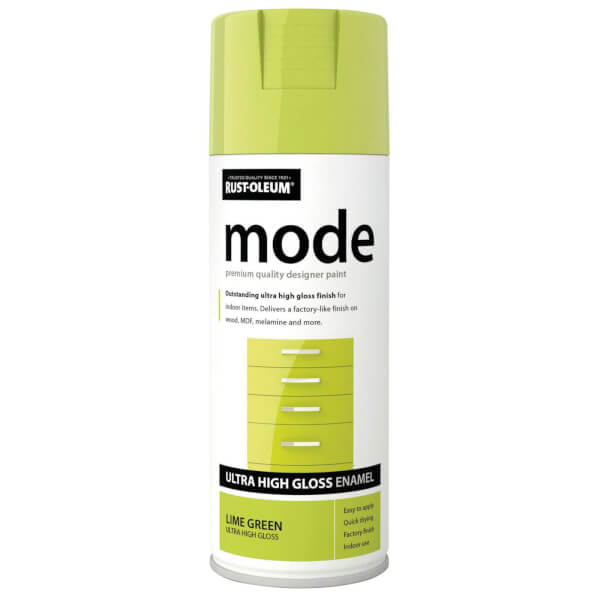 Rust-Oleum Lime Green - Mode Spray Paint - 400ml