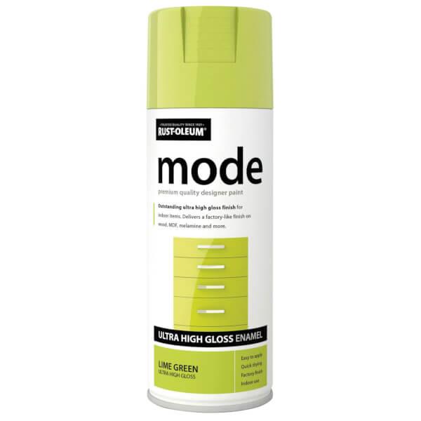 Rust-Oleum Lime Green - Mode Spray Paint - 400ml