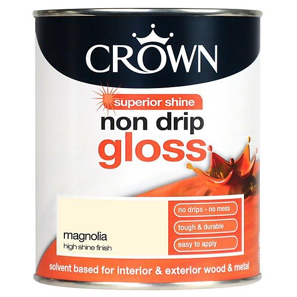 Crown Magnolia - Non Drip Gloss Paint - 750ml