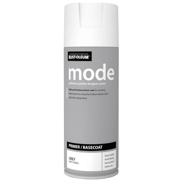 Rust-Oleum Mode Primer Grey Spray Paint - 400ml