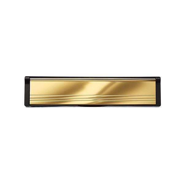 Letter Plate - Brass