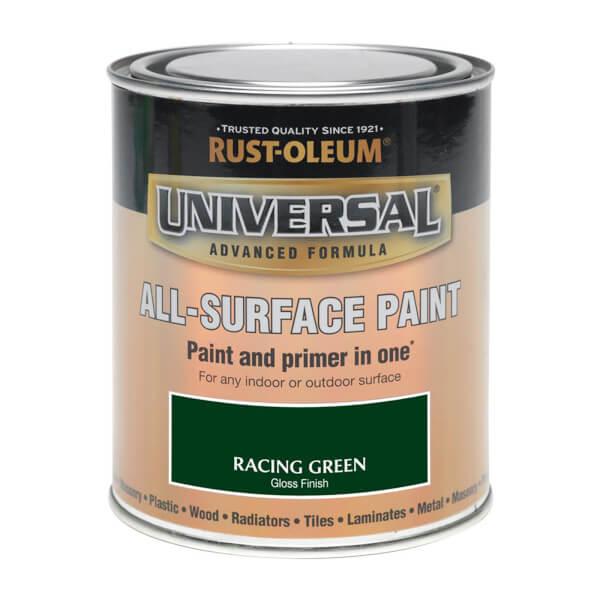 Rust-Oleum Universal All Surface Gloss Paint & Primer - Racing Green - 250ml