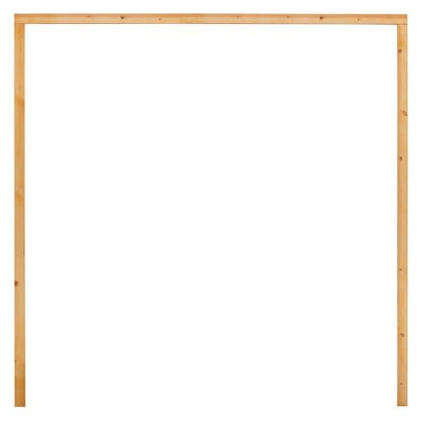 Flat Pack Garage Frame - 2205 x 2271mm
