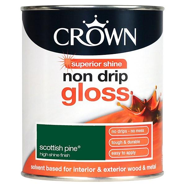 Crown Scottish Pine - Non Drip Gloss Paint - 750ml