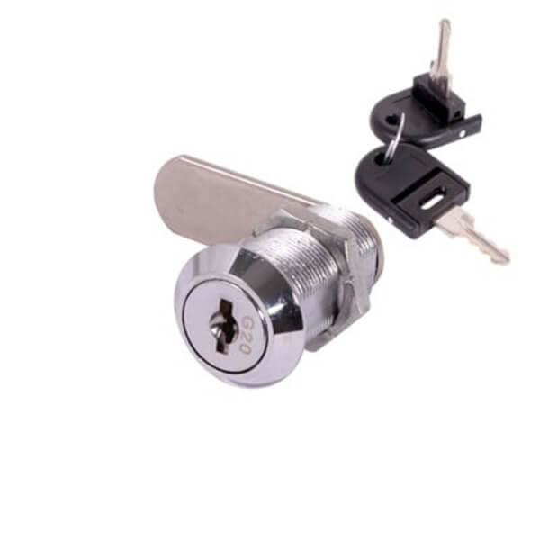 Cam Lock - Chrome Plated - 1 Pack