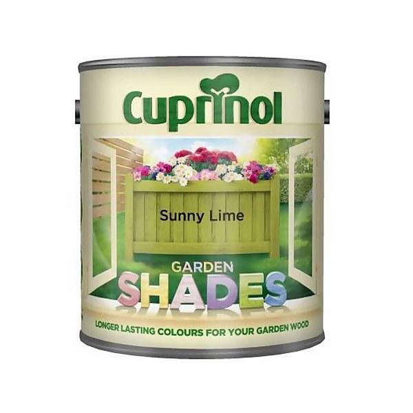 Cuprinol Garden Shades - Sunny Lime - 1L