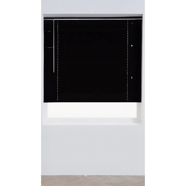Black Aluminium Venetian Blind - 60cm