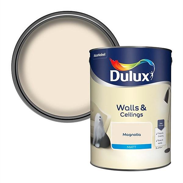 Dulux Magnolia - Matt Emulsion Paint - 5L