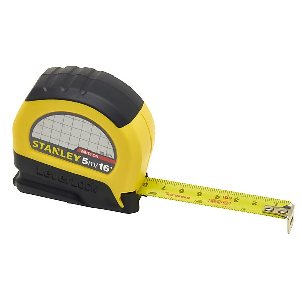 Stanley 5m Leverlock Tape Measure