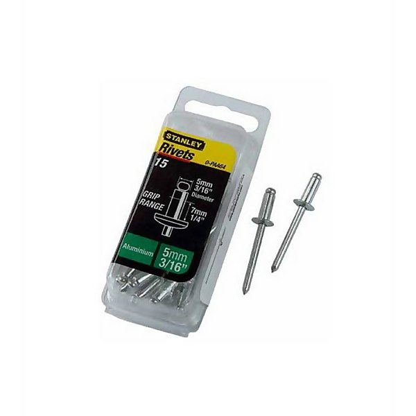 Stanley Rivets - Medium - 5mm - 15 Pack