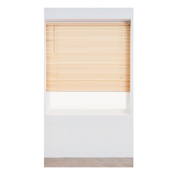 Natural Wood 25mm Venetian Blind - 180cm