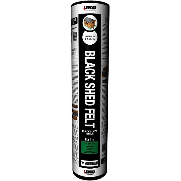 IKO Waterproofing Black Shed Felt - 8 x 1m