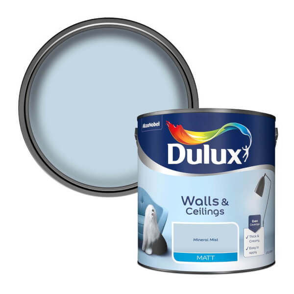 Dulux Mineral Mist - Matt Emulsion Paint - 2.5L