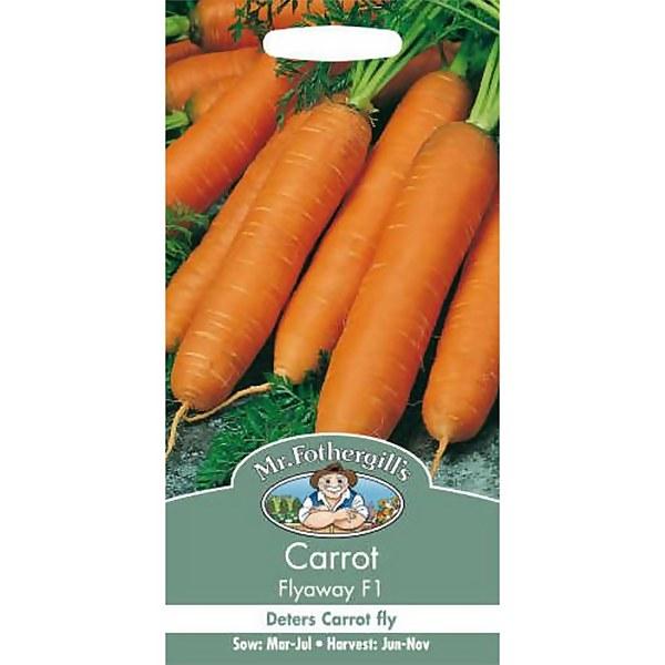 Mr. Fothergill's Carrot Flyaway F1 (Daucus Carota) Seeds