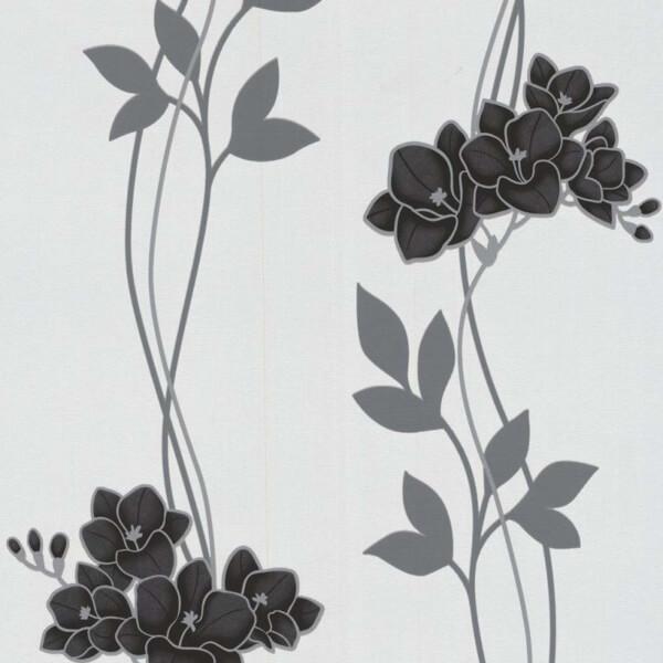 Superfresco Easy Serene Black & White Wallpaper