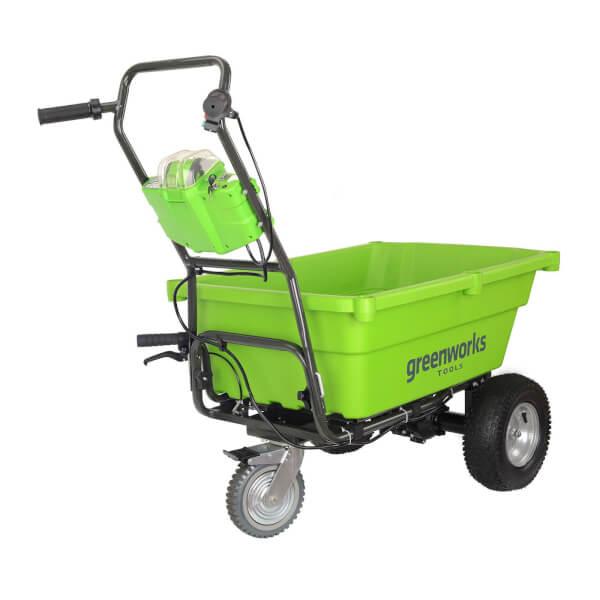 Greenworks 100kg 40V Self-Propelled Garden Cart