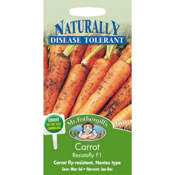 Carrot Resistafly F1 (Daucus Carota) Seeds