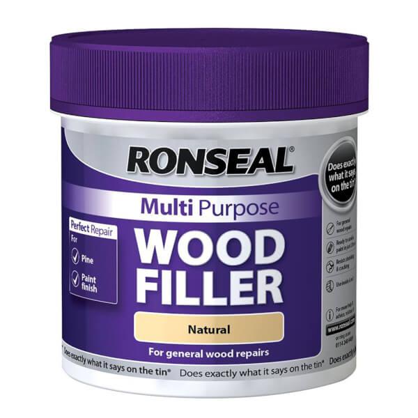 Ronseal Multipurpose Wood Filler Tub - Natural - 465g