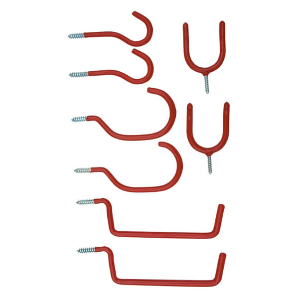 Assorted Hook Set - 8 Piece